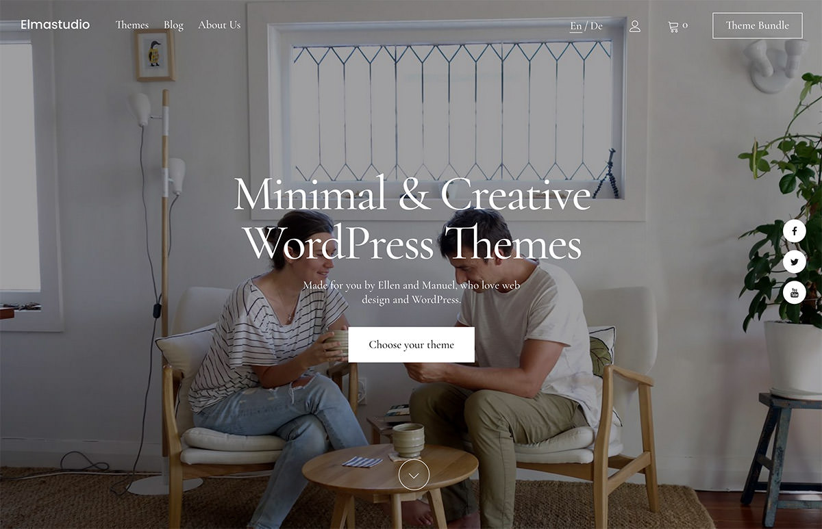 Elmastudio – Premium WordPress Themes & Blog