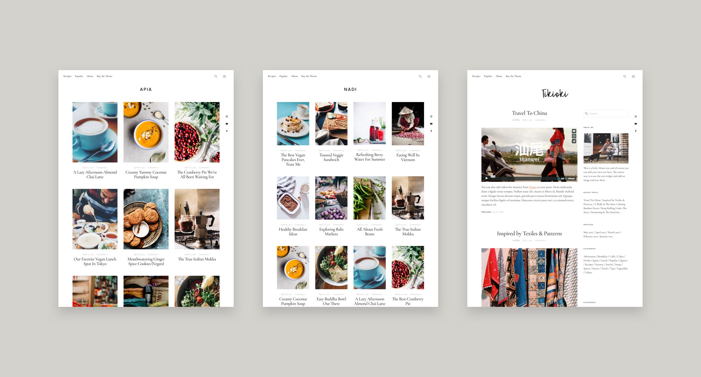 New blog layouts for our uku wordpress theme