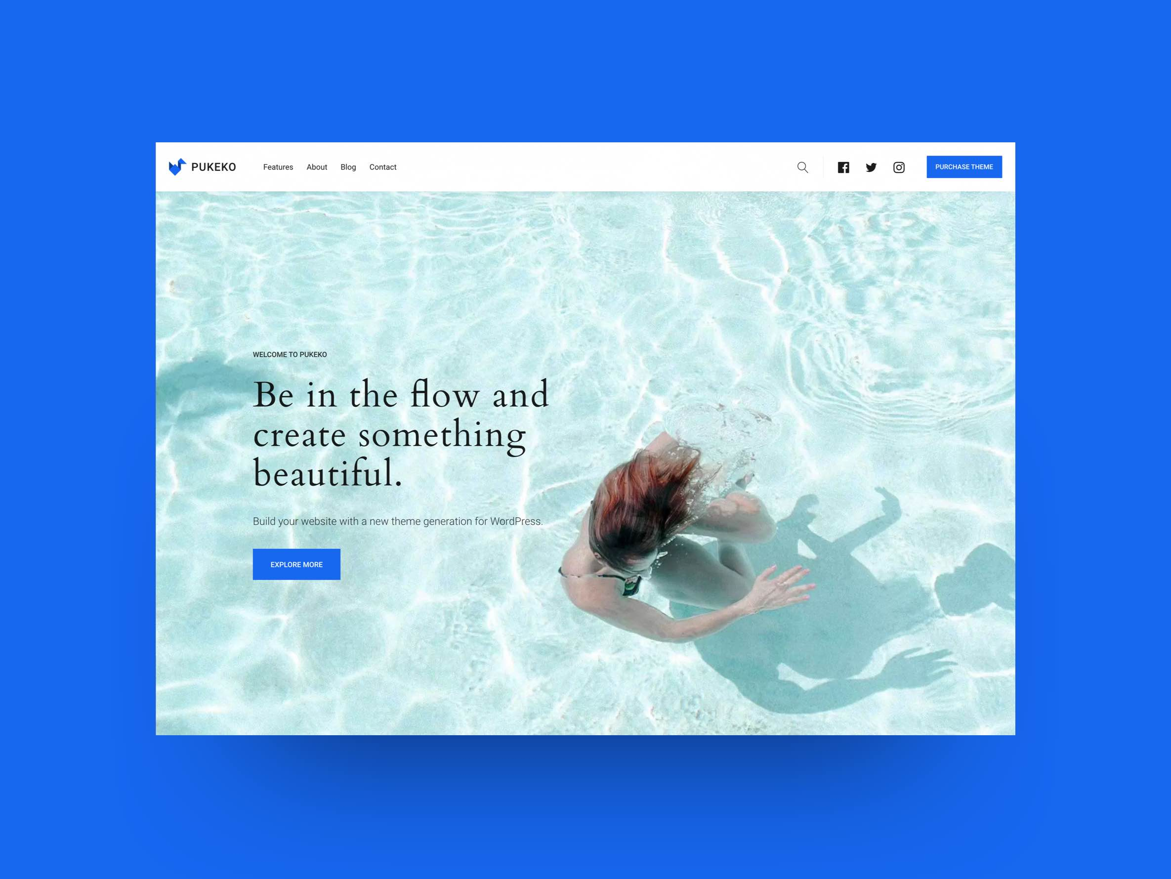 Pukeko WordPress Theme