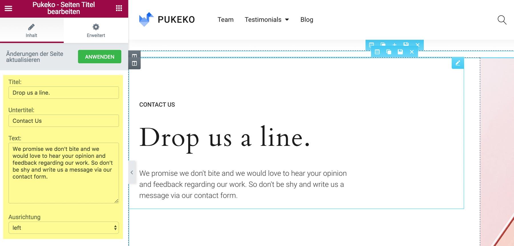 Pukeko Dokumentation – Elmastudio