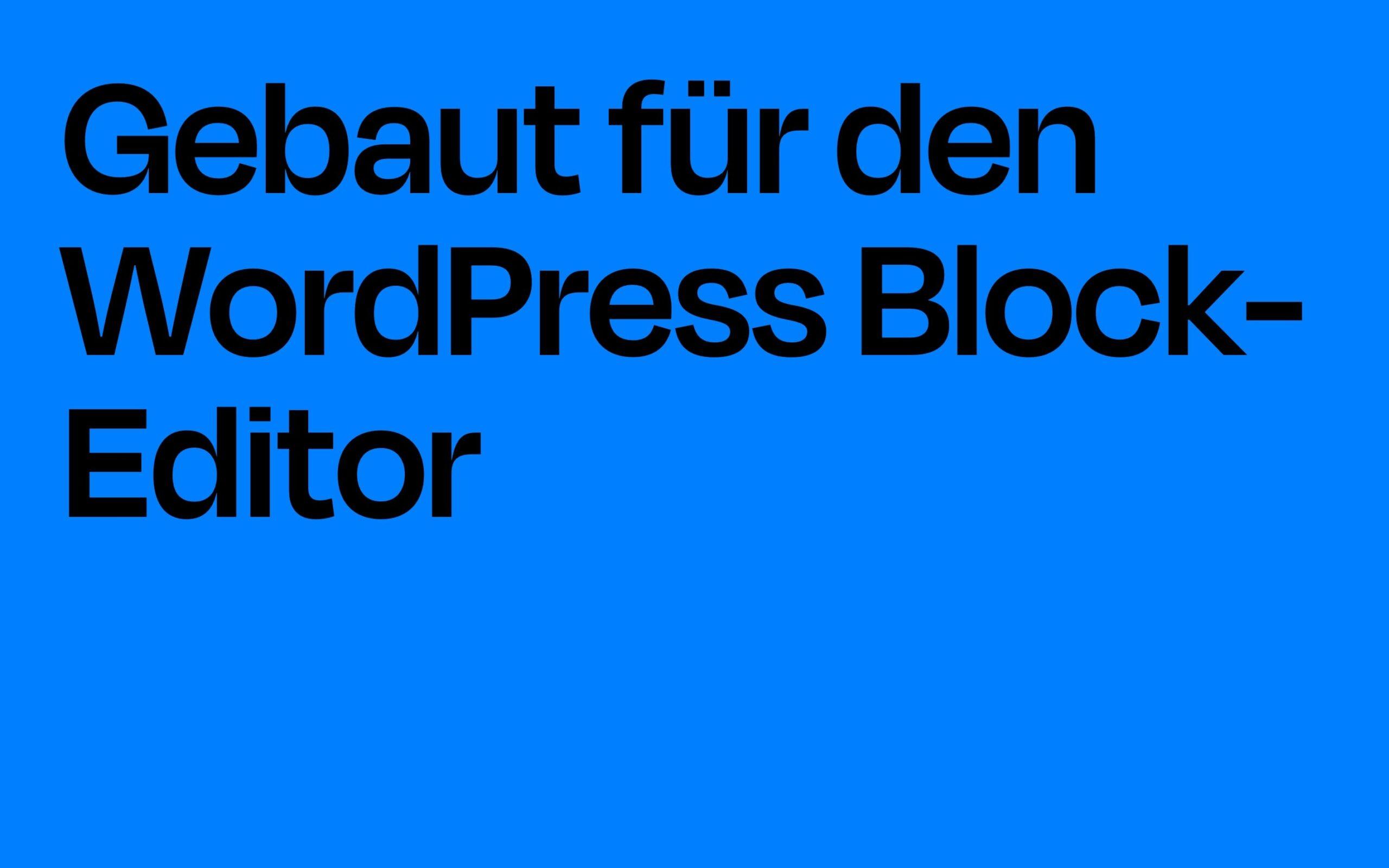 WordPress Block Patterns Aino