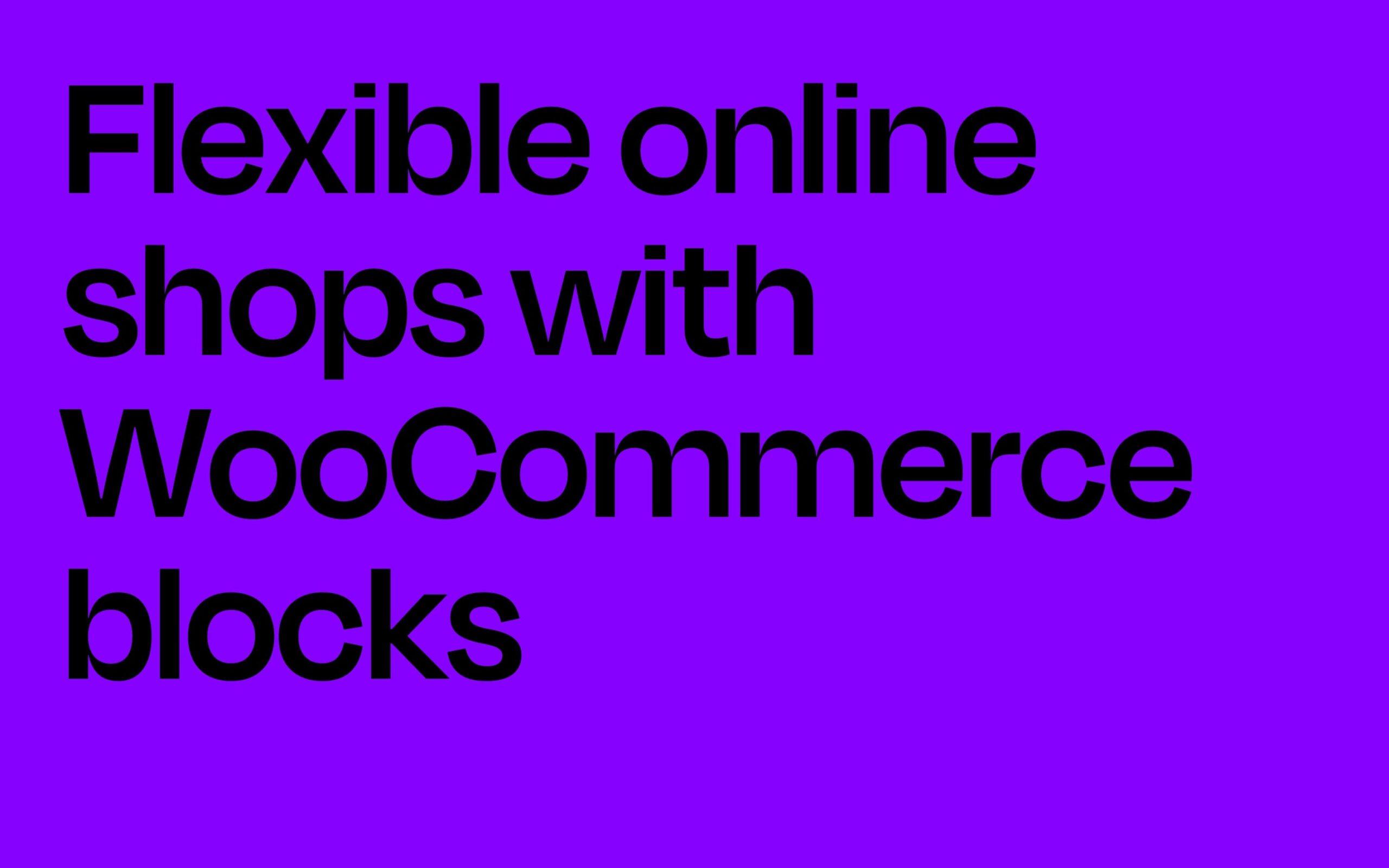 WordPress Block Patterns Aino WooCommerce support